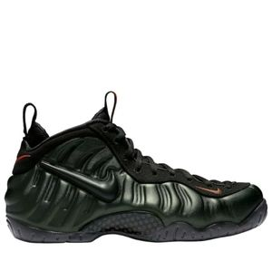 Nike Air Foamposite Pro Sequoia/Black-Orange Mens